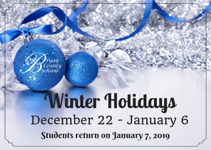 Winter Holidays 18-19