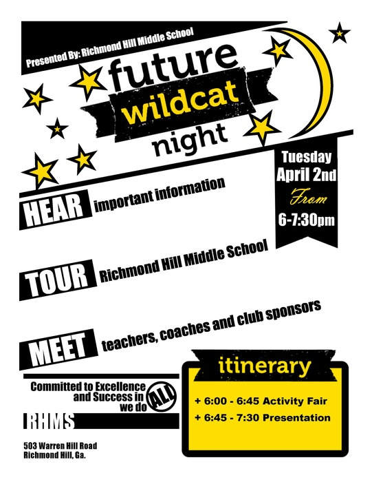 Future Wildcat Night