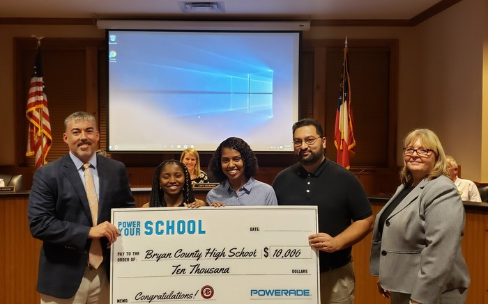 BCHS $10,000 Powerade Award