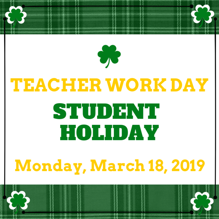 March Teacher Workday