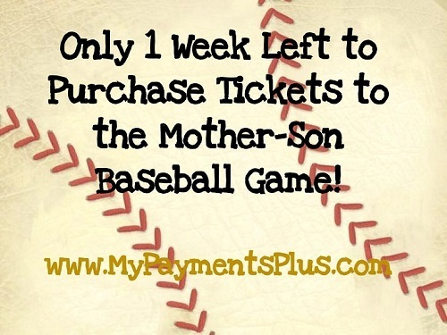 Mother-Son Baseball Game