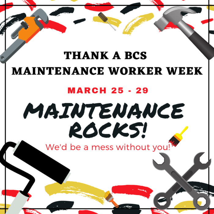 Maintenance Week