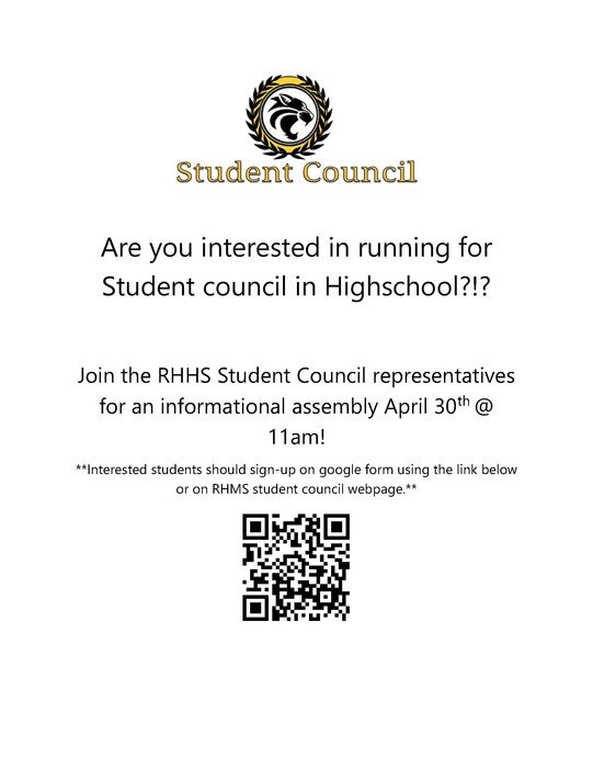 RHHS Student Council