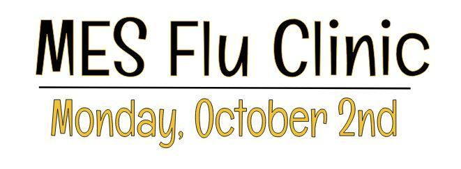 Flu Clinic - October 2nd