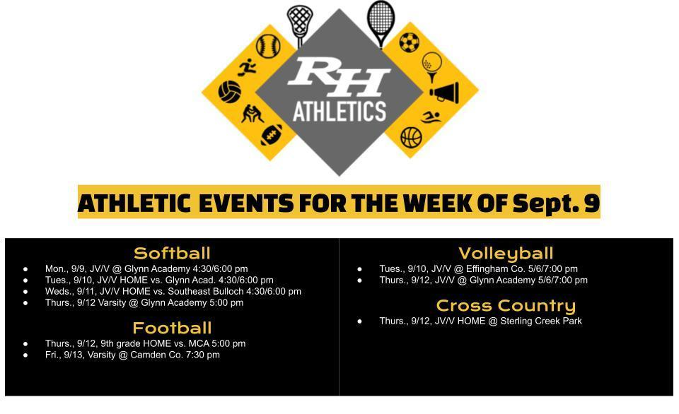 Athletics Sept. 9
