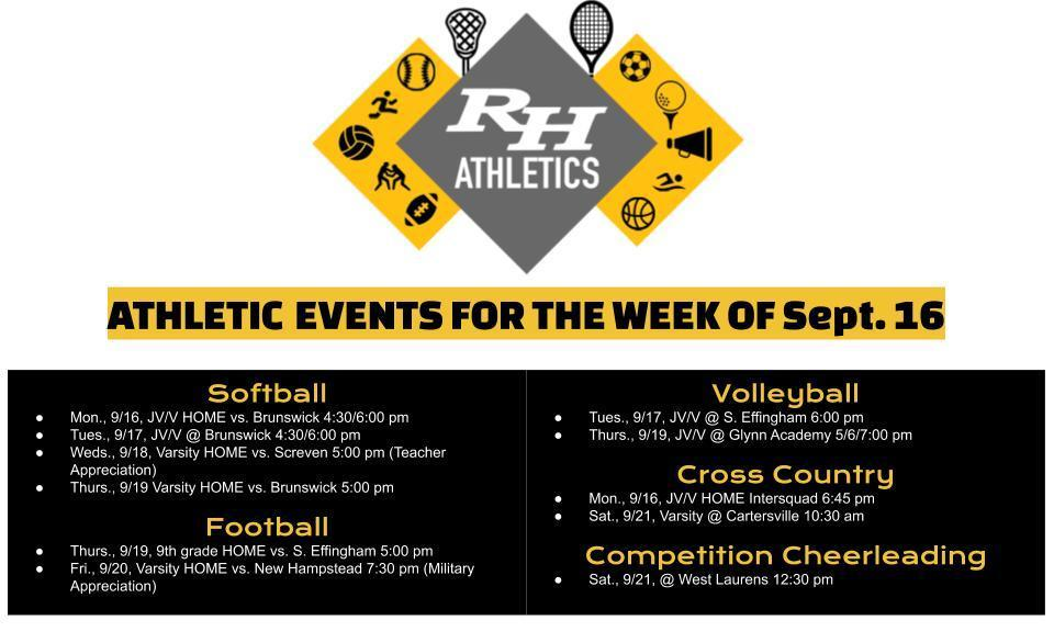 athletics sept 16