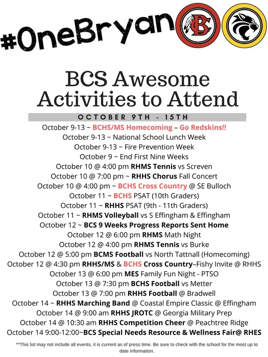 Awesome Activities 10-9