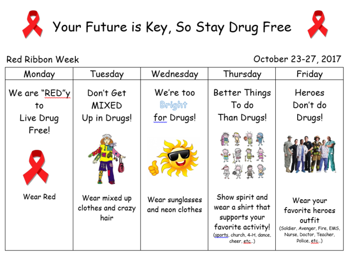 BCES Red Ribbon Week