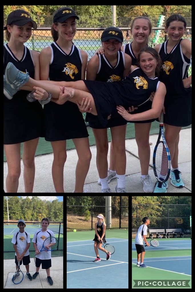 Tennis Team wins against Burke County