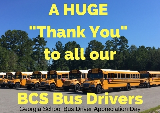 Bus Driver Thank You