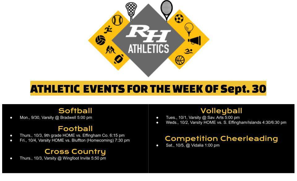 athletics sept 30