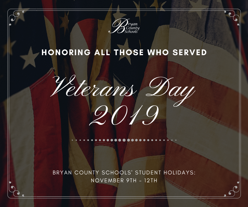 Veterans Day Holiday