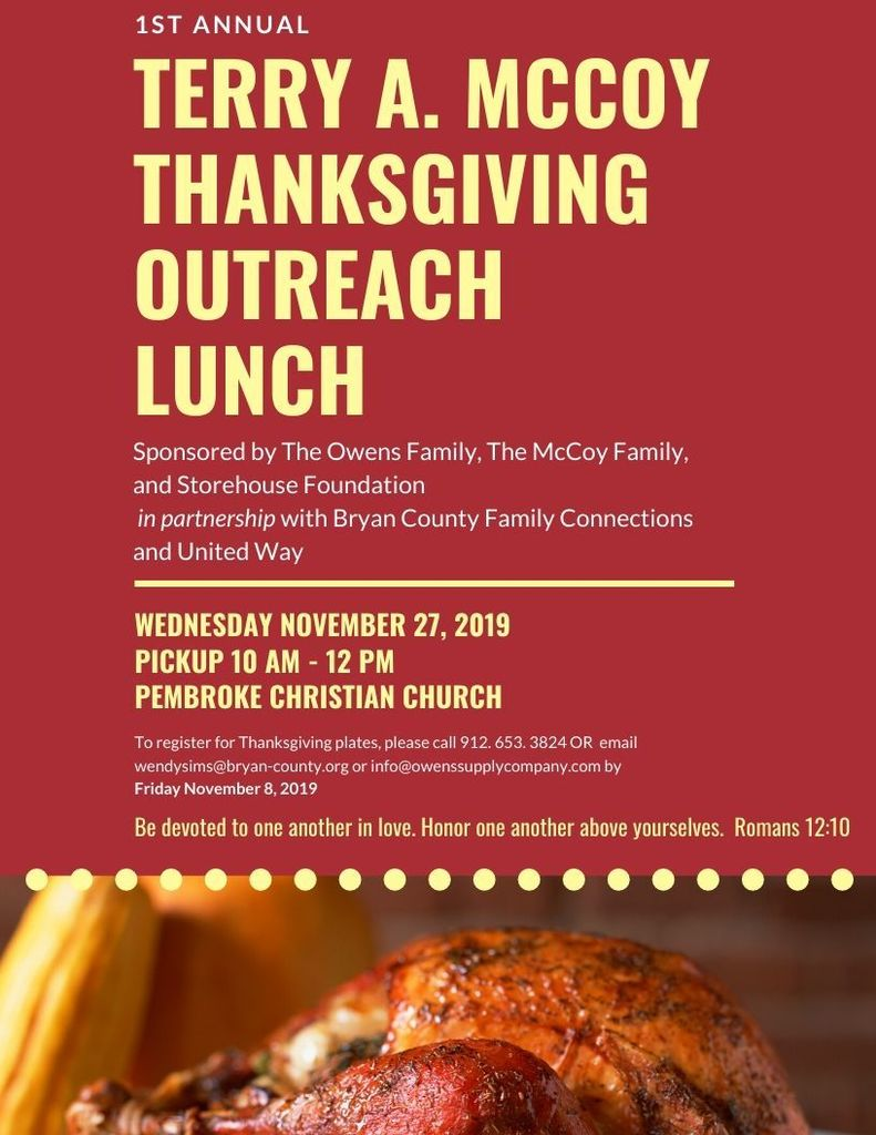 outreach lunch