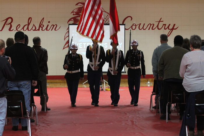 2017 BCHS/BCMS Veterans' Day Ceremony