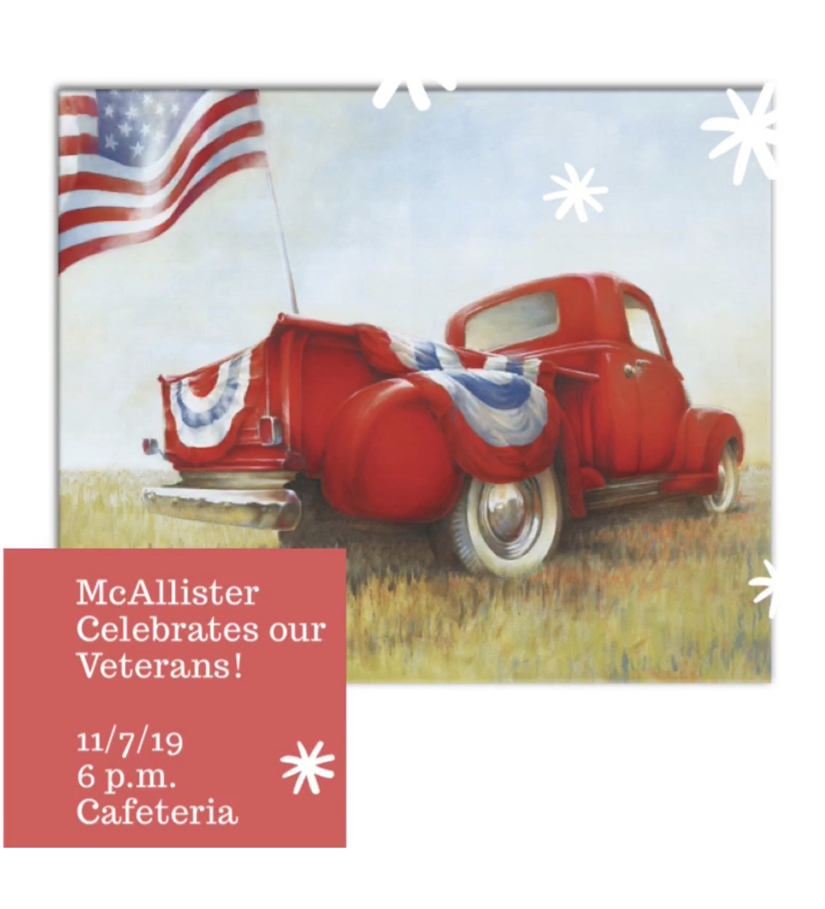 Veterans Day & November Newsletter