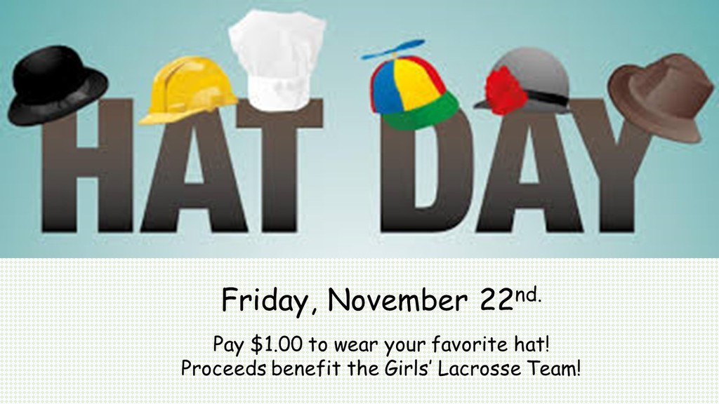Girls Lacrosse Hat Day