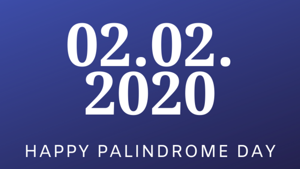 Palindrome Day